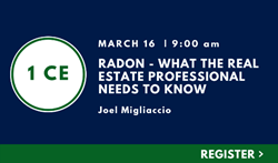Radon – What the Real Estate Professional Needs to Know