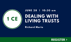 Dealing with Living Trusts
